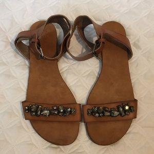Mossimo jeweled sandals
